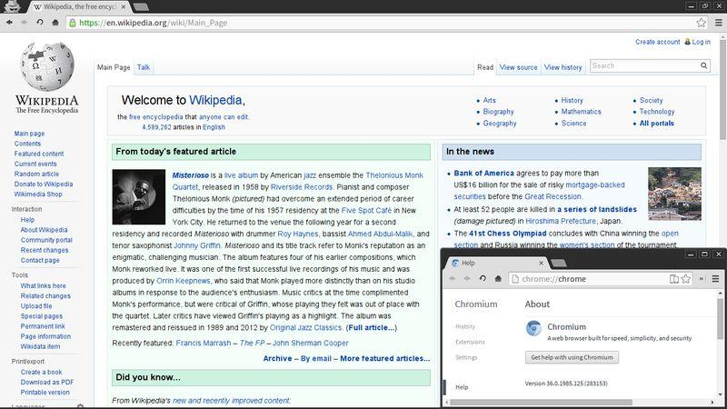 Chromium for Linux web browser free - best web browser for Linux operating system - Linux based best web browser