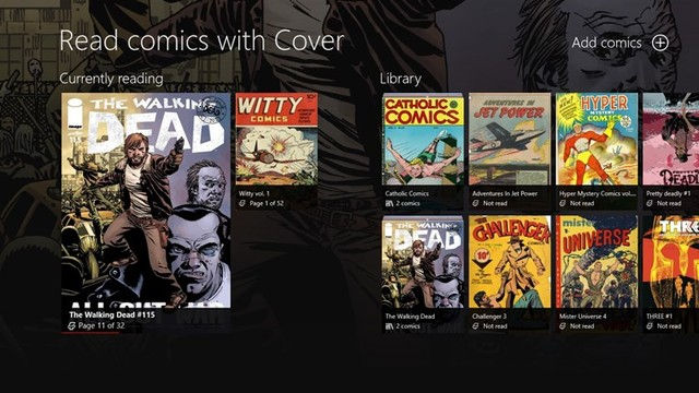 Cover - Best Comic Book Reader for Windows PC - Best ePub Reader for Windows PC