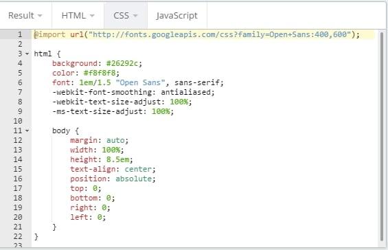 Editr Web-based CSS Editor HTML Editor - Best Online HTML CSS Code Editor Tool