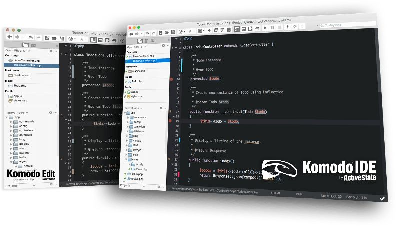 Komodo Edit Free Text Editor Open Source - Recommended Best Text Editors for Mac - Best Mac Text Editor - Paid and Free Text Editors for Mac