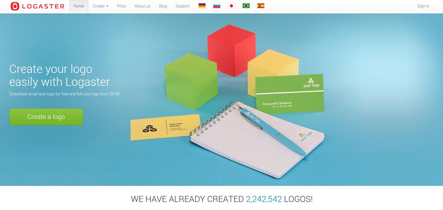 Logaster - Free Logo Maker and Generator - Online Software for Logo Design