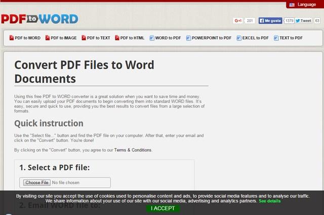 PDF to Word - PDF to Image Converter - PDF to Text Converter - Word to PDF Converter - Excel to PDF Converter