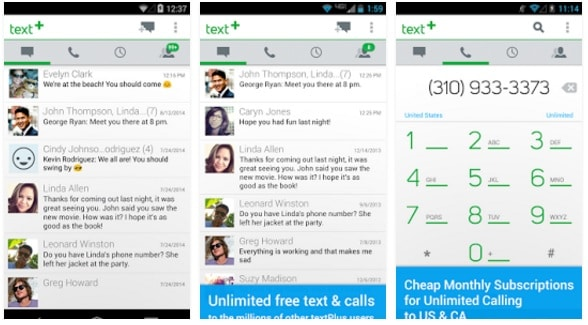 TextPlus - Free Text and Calls - Best Android Texting App