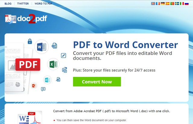 doc2pdf - Best Online PDF to Word Converter Tools to Word to PDF Online for Free