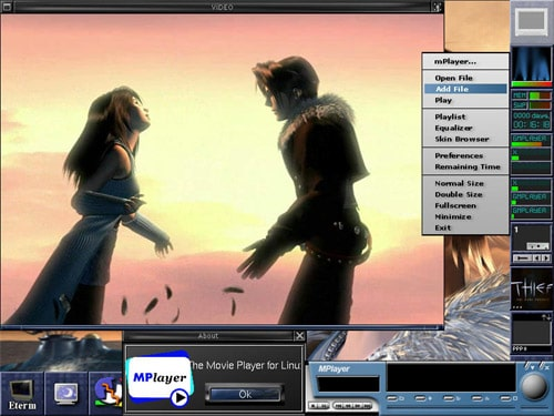 mplayer for linux - Open source free media player for Linux - Best Linux Media Players