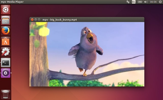 mpv - Open Source Free Video Player for Linux - Best Music Player for Linux