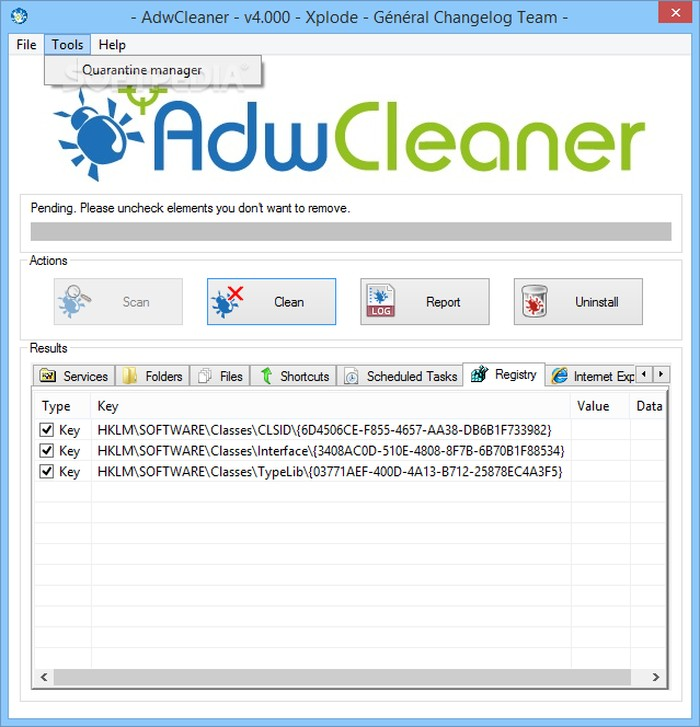 AdwCleaner - Best Free Adware Removal Tools for Windows