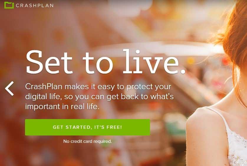 CrashPlan best data backup software - best data backup software for Windows
