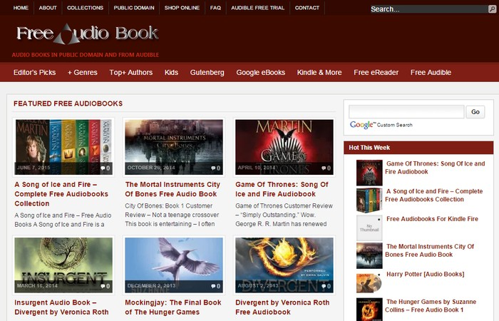 Free Audio Books - Best Sites to Download Popular Free Audio Books Online