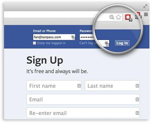 LastPass Safari Add on Password Manager