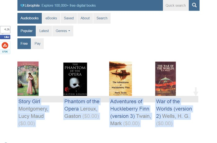 Librophine - Best Site for Free Audio Books Downloads - Best Sites to Download Free Audio Books Online