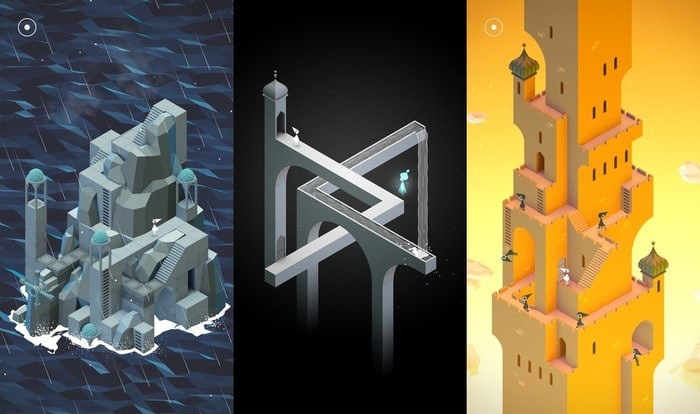 Monument Valley - Best Puzzle Games for iPhone - Best iPhone Puzzle Games