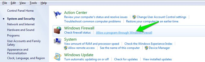 Allow-Programs - Spy Detection on Windows - How To Find Out if You're Being Spied On in Windows