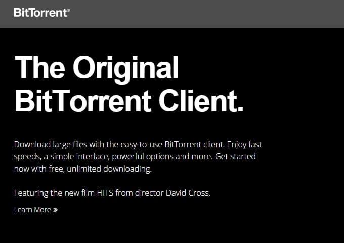 BitTorrent - Best uTorrent Alternative for Windows PC - Best uTorrent Alternative for Mac OS X