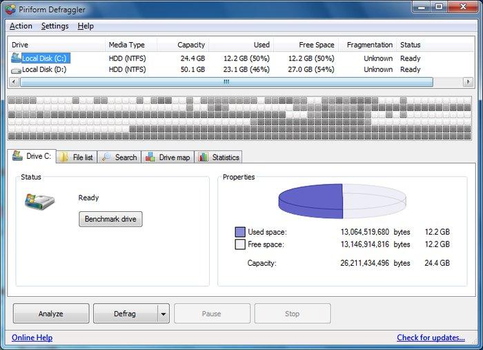 Defraggler - Best Free Disk Defragmenter - Best Free Defrag Software - Best Defrag Program