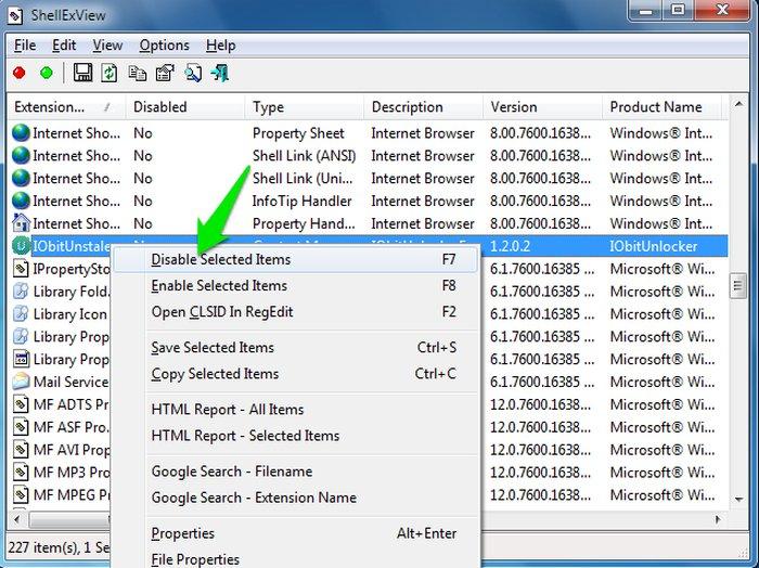 Edit Windows Context Menu Disable - Windows Context Menu Editor - Windows Explorer Context Menu - Windows Context Menu Cleaner