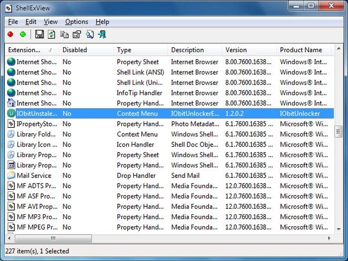 Edit Windows Context Menu ShellEXview - Windows Context Menu Editor - Windows Explorer Context Menu - Windows Context Menu Cleaner
