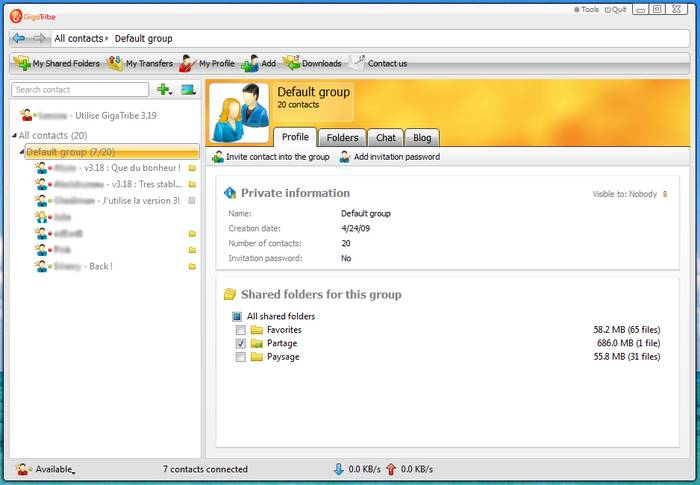 GigaTribe - Peer to Peer File Sharing Software - Best File Sharing Software to Share File Easily