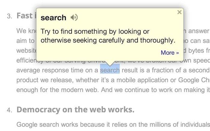 Google Dictionary - Best Dictionary for Chrome - Chrome Dictionary