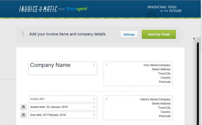 Invoice-o-matic - Best Online Invoice Maker to Create Custom Receipts Online for Free