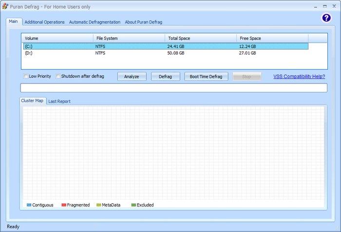 Puran Defrag - Best Free Disk Defragmenter - Best Free Defrag Software - Best Defrag Program