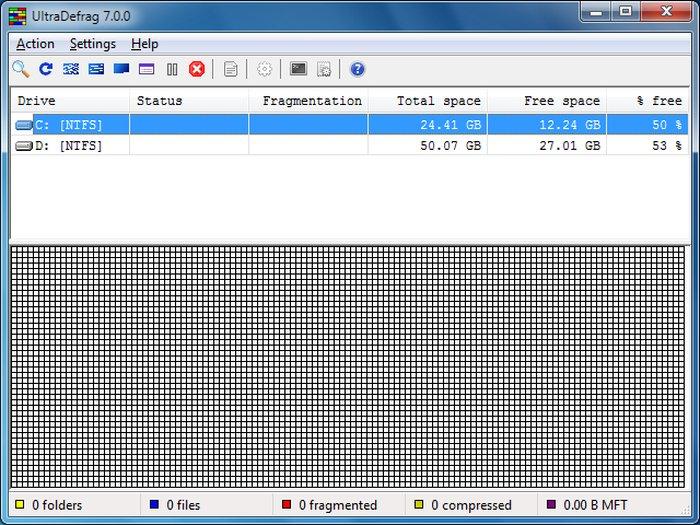 UltraDefrag - Best Free Disk Defragmenter - Best Free Defrag Software - Best Defrag Program