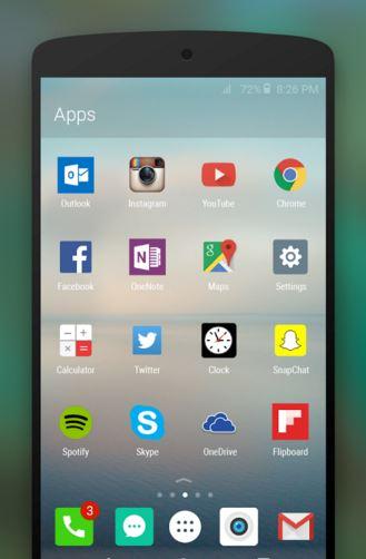 arrow launcher - responsive android launchers - Best Android Launchers - Best Launchers for Android - Best Launcher Apps for Android