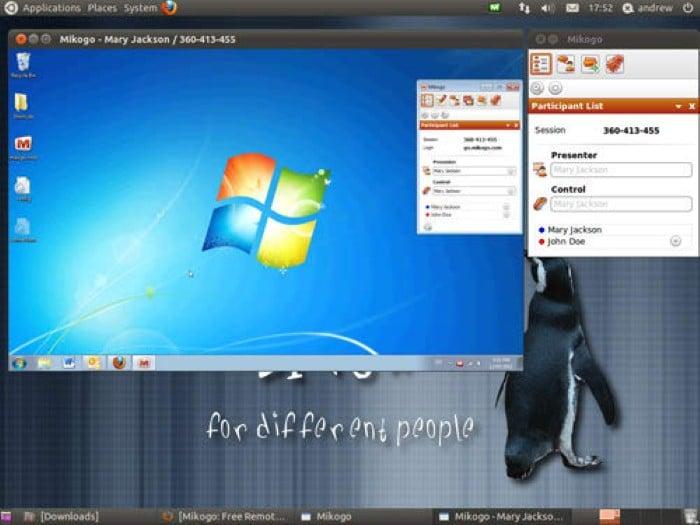 Mikogo - Best screen sharing app - screen view software