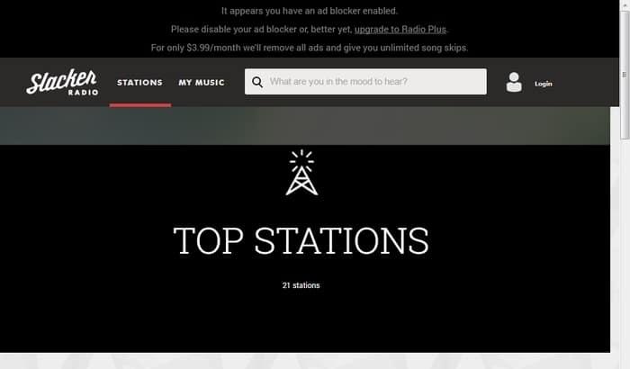 Slacker- Internet live radio - Best Music Streaming Services - Best Internet Radio Services to Listen Radio Online