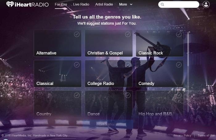 iHeartRadio- Listen Live Radio and playlists - Best Internet Radio Services to Listen Radio Online