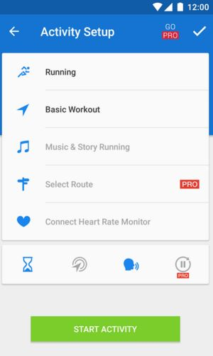 Runtastic - Best Android Fitness Apps - Top 7 Best Fitness Apps for Android to Keep Track of Your Health and Fitness