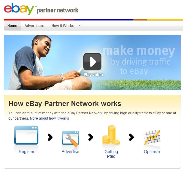 Earn Money Driving Quality Traffic to Ebay Partners