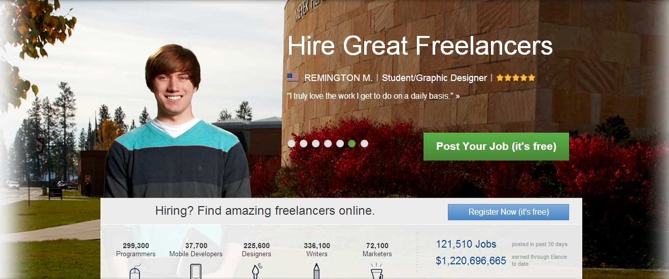 Looking for Freelance Jobs ? - Checkout Elance