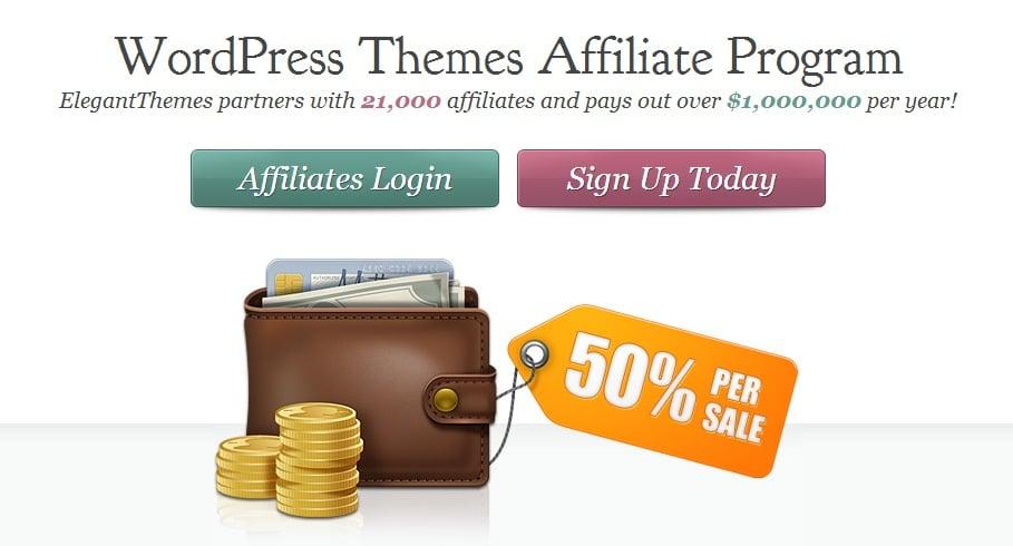 Promote Elegant Themes and Make Money