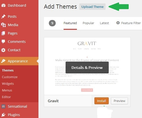 A Beginner Guide to Upload A WordPress Theme