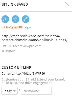 Bit.ly URL Shortener - Best URL Shortener Sites to Shorten URLs