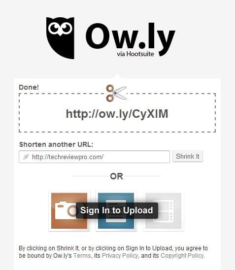 Ow.ly URL Shortener -Best URL Shortener Sites to Shorten URLs