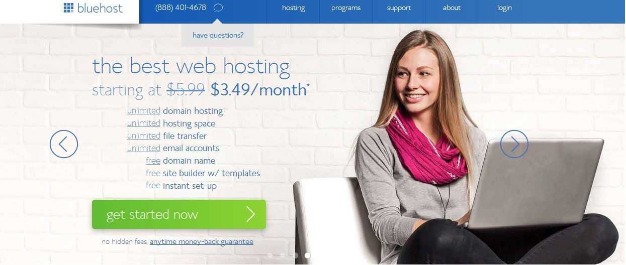 BlueHost - Most Trusted and Best Web Hosting Services