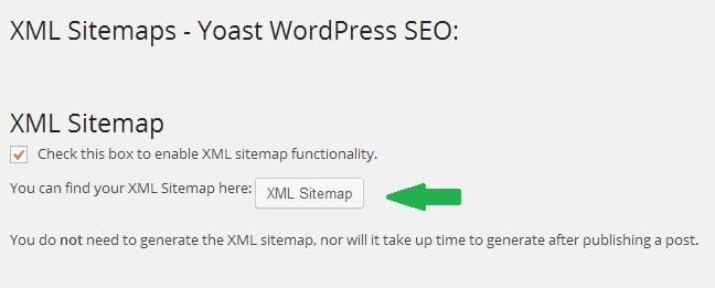 Create XML Sitemap using WordPress SEO by Yoast Plugin