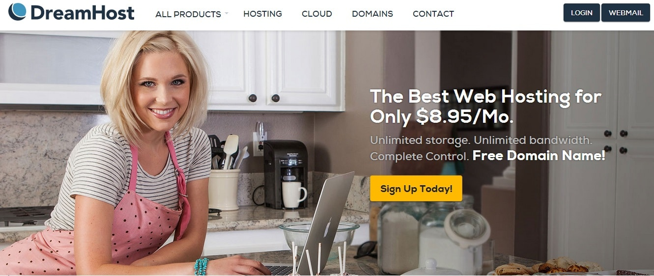 DreamHost - Most Trusted and Best Web Hosting Service Provider