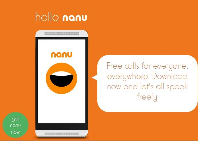 Nanu - Best Android Apps to Make Unlimited Free Calls