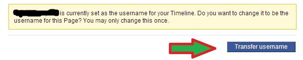 Change Unchangeable Facebook Username