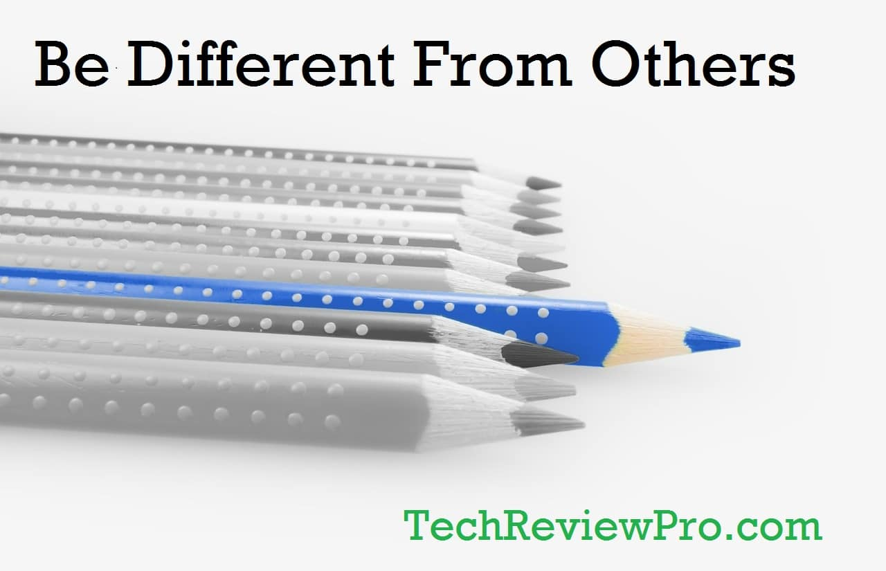 Creative Writing Tips - Do Different