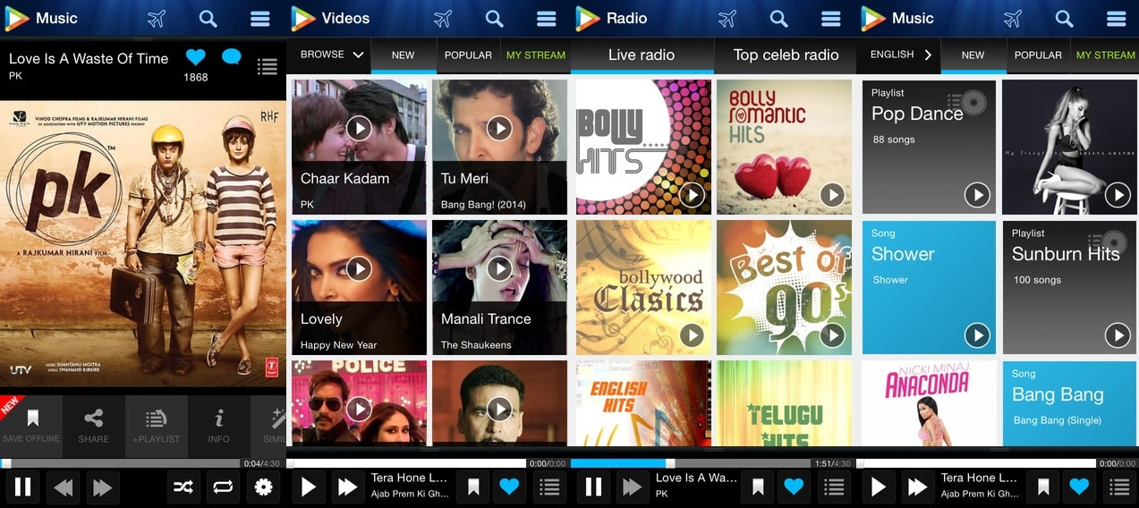 Hungama - Best Music Streaming App for Android and iOS Power Users to Stream Music Online