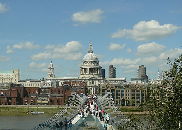 St. Paul Cathedral UK London - Most Popular Churches in UK