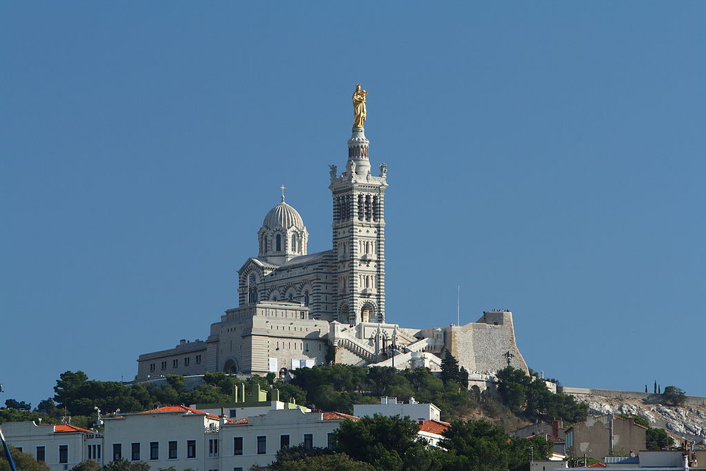 Notre-Dame de la Garde, Marseille , France - Top Most Beautiful Churches in The World