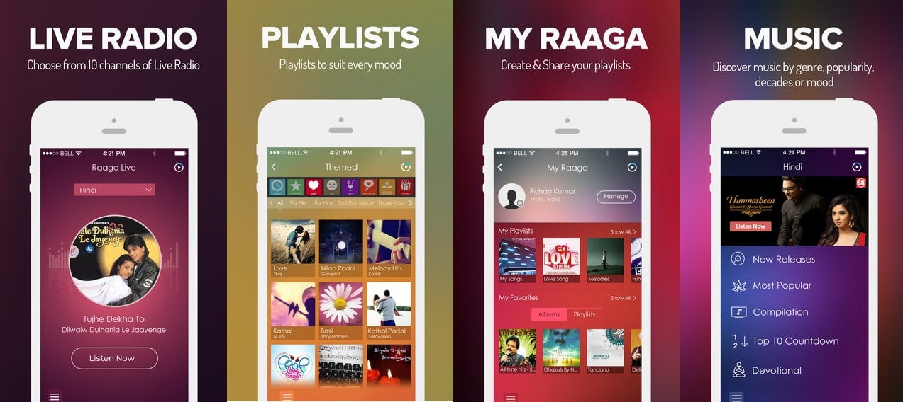 Raaga - Best Music Streaming Apps for Android and iOS Power Users to Stream Music Online