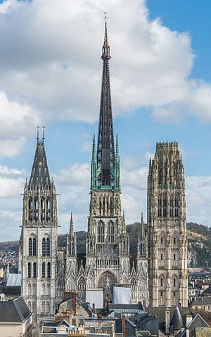 The Rouen Cathedral, Rouen, France - The Most Beautiful Churches in The World