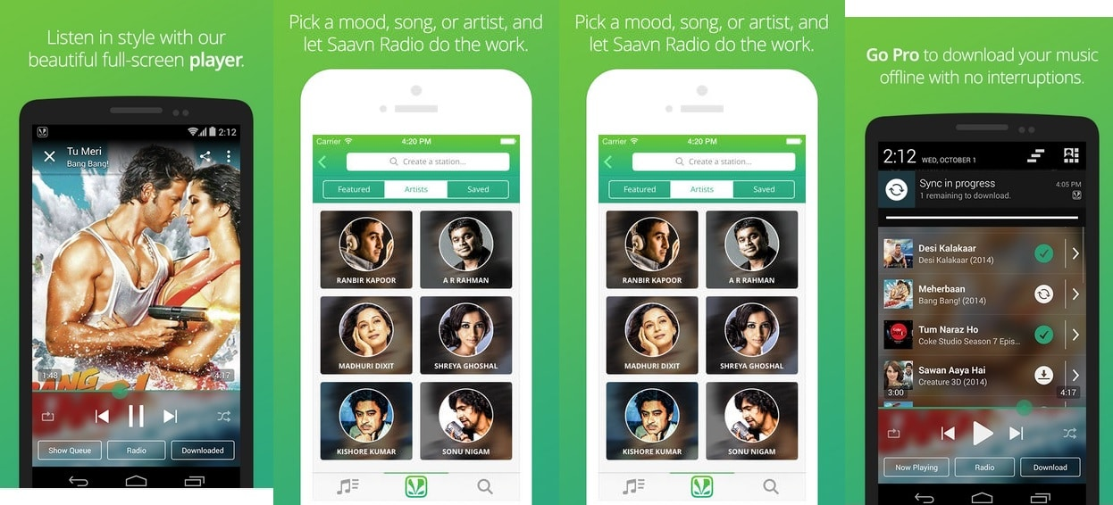 Saavn - Best Music Streaming App for Android and iOS Power Users to Stream Music Online