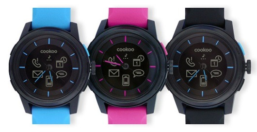 Cookoo - Best Smart Watch with Longer Battery Life, Water Resistance 2015